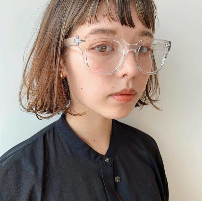 シアーベージュボブ|【Laf from GARDEN】ラフ フロム ガーデン スタイリスト安倍 千晶の髪型