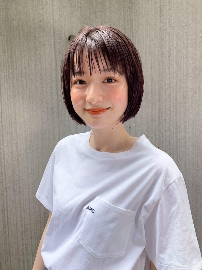 透明感ボブ|表参道の美容室 JENO (ジェノ)スタイリスト堀江 昌樹のヘアスタイル・ヘアカタログ・髪型|