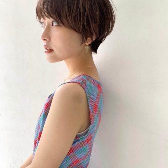 お洒落がしたくなるマッシュショートヘア|シー ダイカンヤマ(SHE DAIKANYAMA)スタイリスト丸岡 奈央の髪型