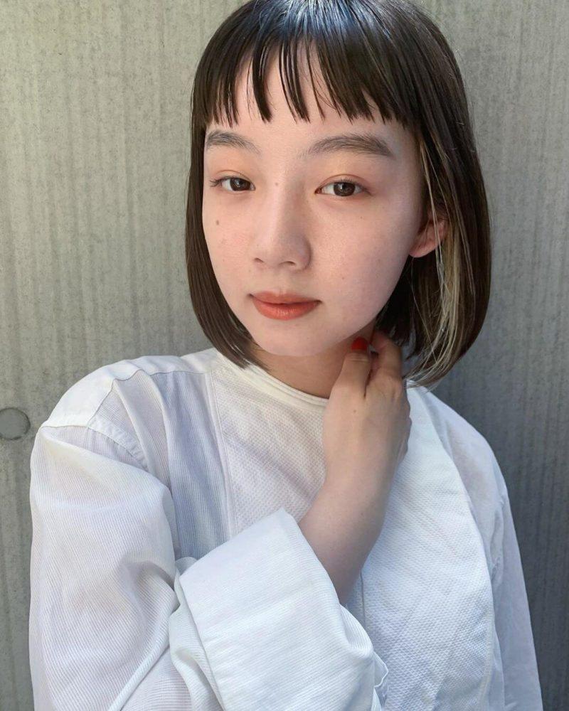 ショートバングボブ|表参道の美容室 JENO (ジェノ)スタイリスト堀江 昌樹の髪型