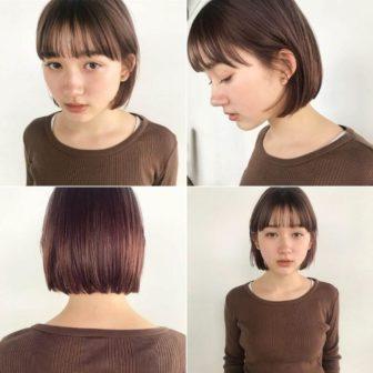 ダブルカラー*色素薄めのベージュピンク|東京二子玉川の美容室 nanuk 岡村 健太郎のヘアスタイル
