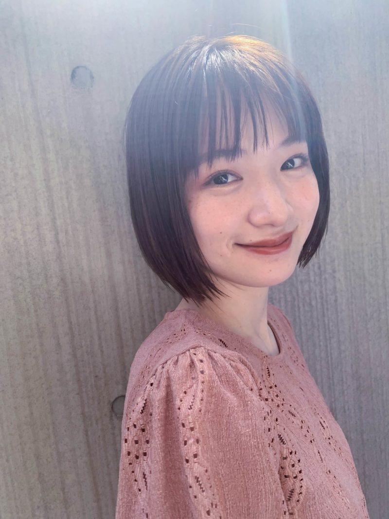 ナチュラルで可愛いボブ|表参道の美容室 JENO (ジェノ)スタイリスト堀江 昌樹の髪型