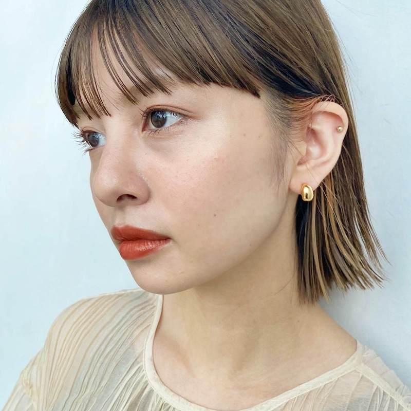 切りっぱなしボブ★インナーカラー|銀座の美容室 ガーデン トーキョウ(GARDEN Tokyo)スタイリストKOMAKIのヘアスタイル
