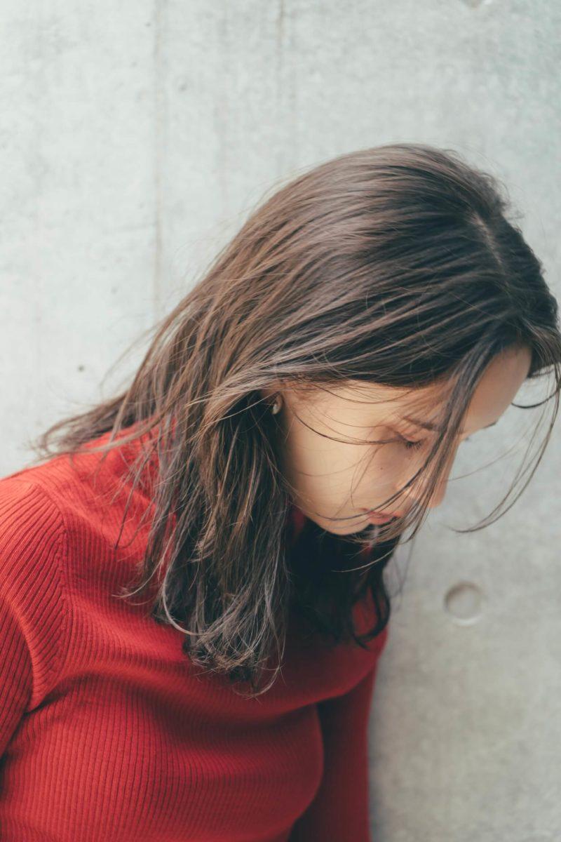 オイルをつけるだけの簡単ミディアムヘア|銀座の美容室 Belle Ginza 並木通り店 スタイリスト加藤 千明のヘアスタイル