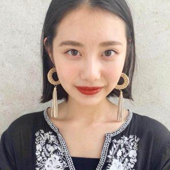 前下がり外ハネボブ★|銀座の美容室 ガーデン トーキョウ(GARDEN Tokyo)スタイリストKOMAKIのヘアスタイル
