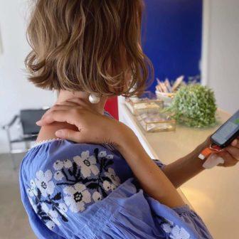 ギリギリ結べないミニボブ|岐阜市の美容室ヘアデザインサロンCiel (シエル)スタイリスト魚住 理恵子のヘアスタイル