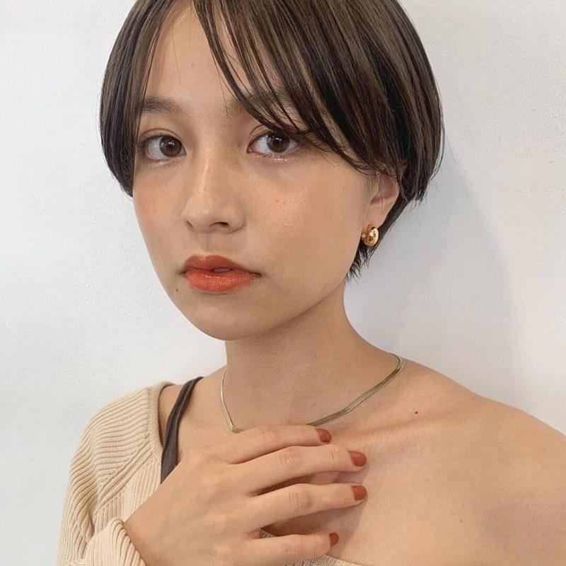 ナチュラルなマッシュショート|銀座の美容室 ガーデン トーキョウ(GARDEN Tokyo)スタイリストKOMAKIのヘアスタイル