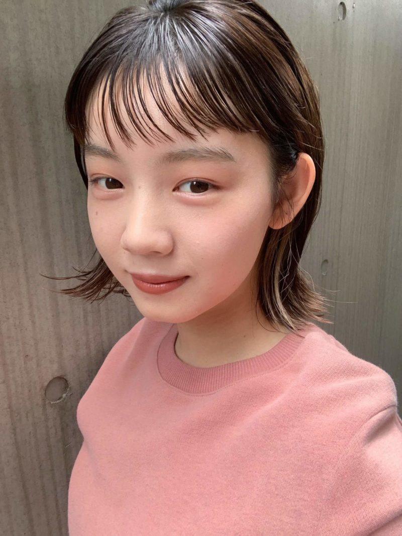 外ハネボブ/イヤリングカラー|表参道の美容室 JENO (ジェノ)スタイリスト堀江 昌樹の髪型