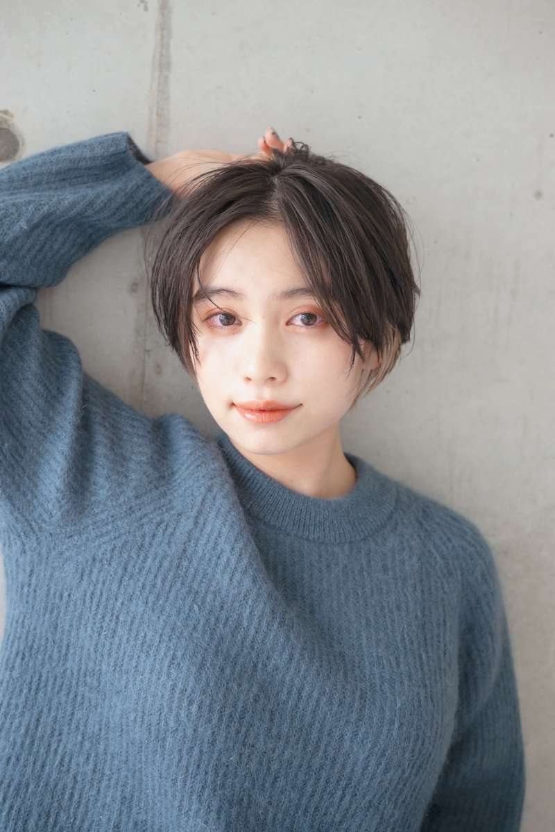 インナーカラーショートヘア|表参道の美容室 ローブ アオヤマ(LOAVE AOYAMA)佐脇 正徳の髪型