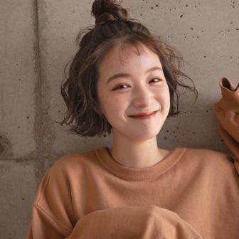 パーマアレンジミニボブ|表参道の美容室 ローブ アオヤマ(LOAVE AOYAMA)佐脇 正徳の髪型