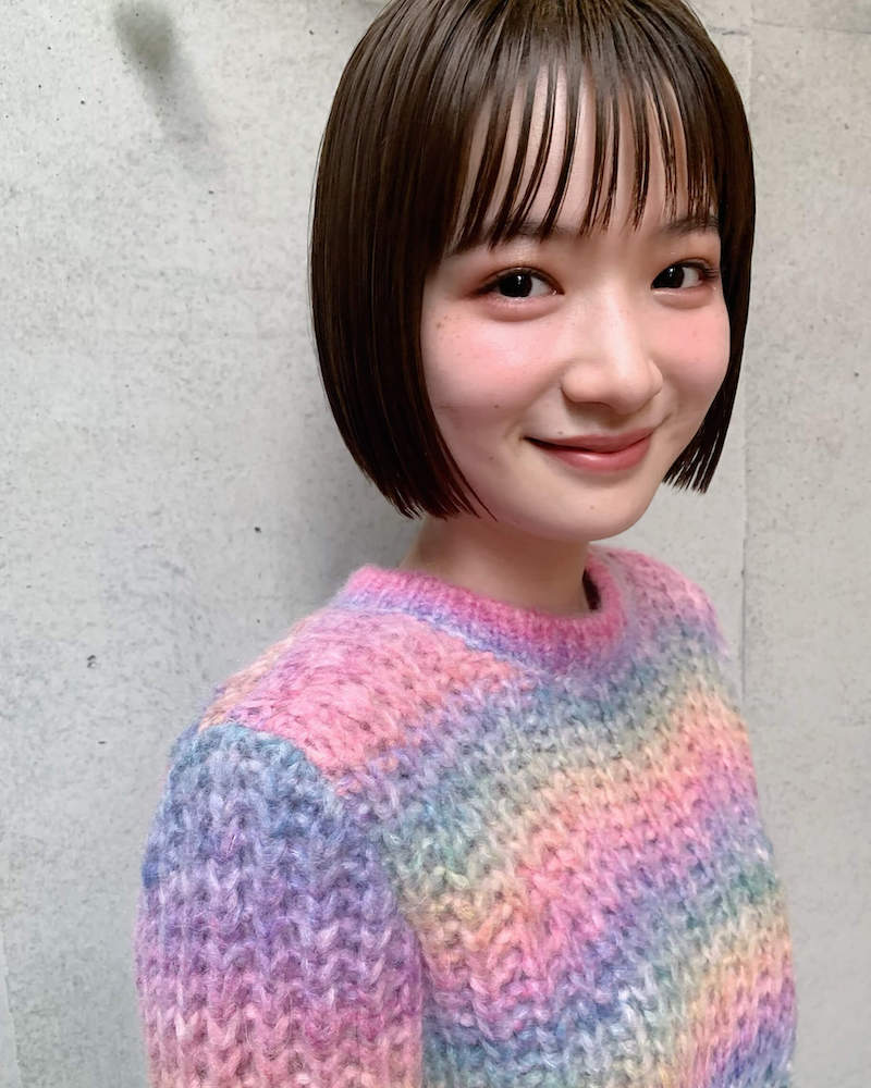 シンプルで可愛いミニボブ|表参道の美容室 JENO (ジェノ)スタイリスト堀江 昌樹の髪型