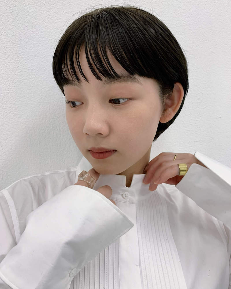 みみかけマッシュショート|表参道の美容室 JENO (ジェノ)スタイリスト堀江 昌樹の髪型